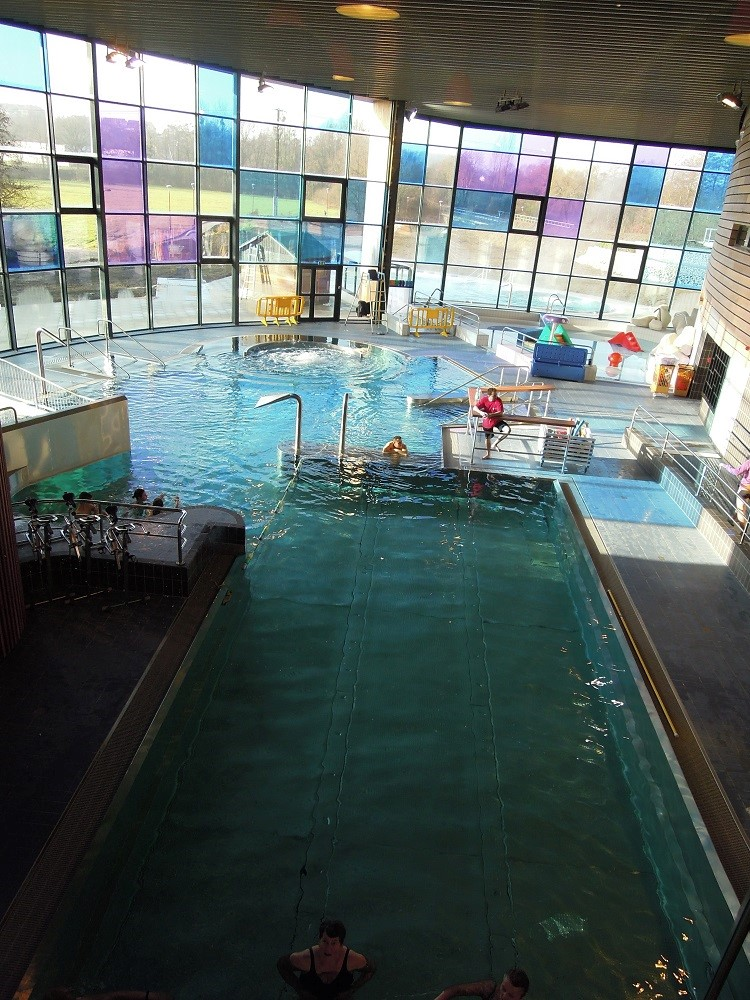 Indoor pool II children fun  Opening new sports complex Ste Menehould 1412013